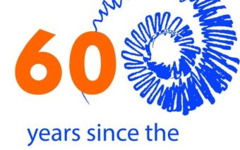 60 years since the 1st cochlear implant -logo.