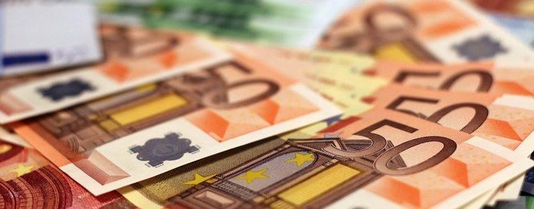 50 euron seteleitä.