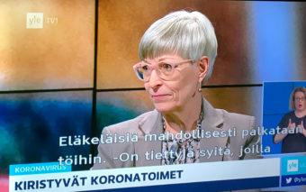 Tekstitetty televisio-ohjelma.